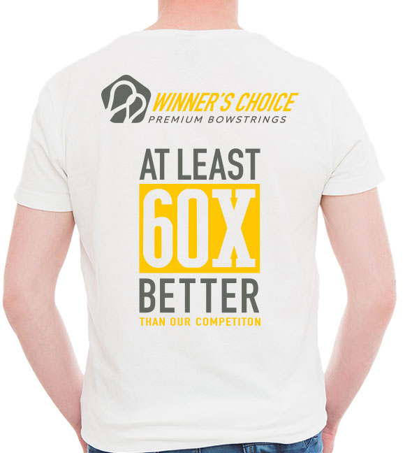 Winners Choice Strings 60X T-Shirt