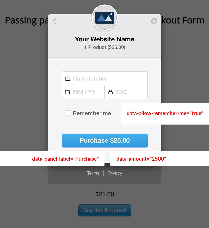 Simple Stripe Checkout Form Parameters Visualized (Part 3)