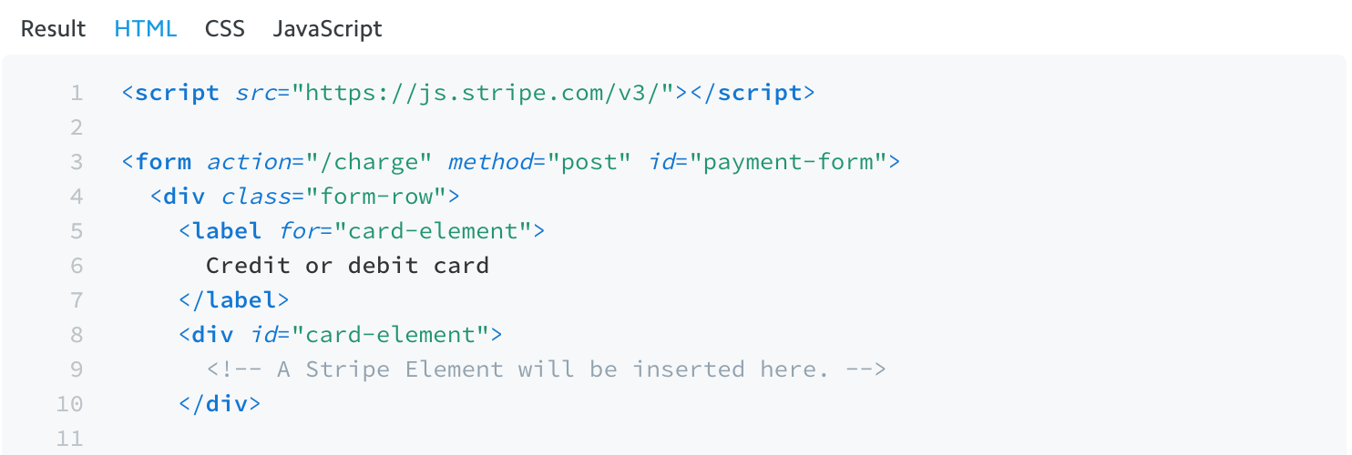 How to Connect a Stripe Credit Card Form to Your Backend