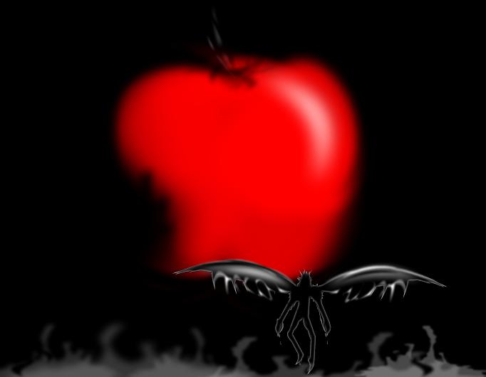 death note ryuk apple dance - photo #30