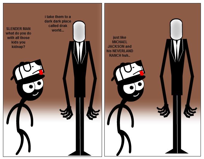 stripgenerator com stickman vs slenderman
