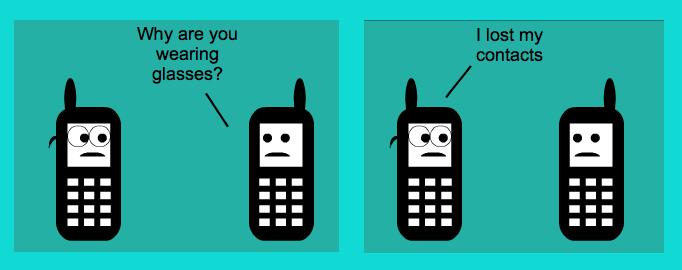 Stripgenerator com - Cell phone joke