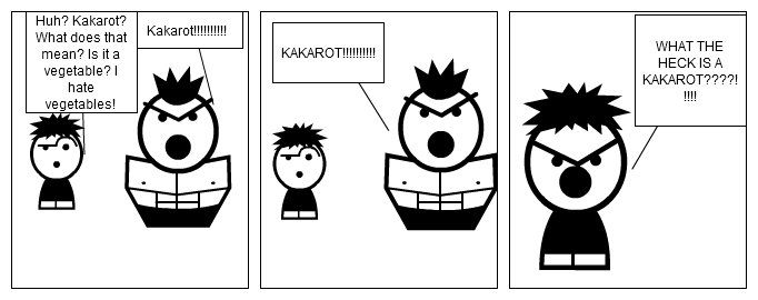 Stripgeneratorcom Goten Wants To Know What A Kakarot Is
