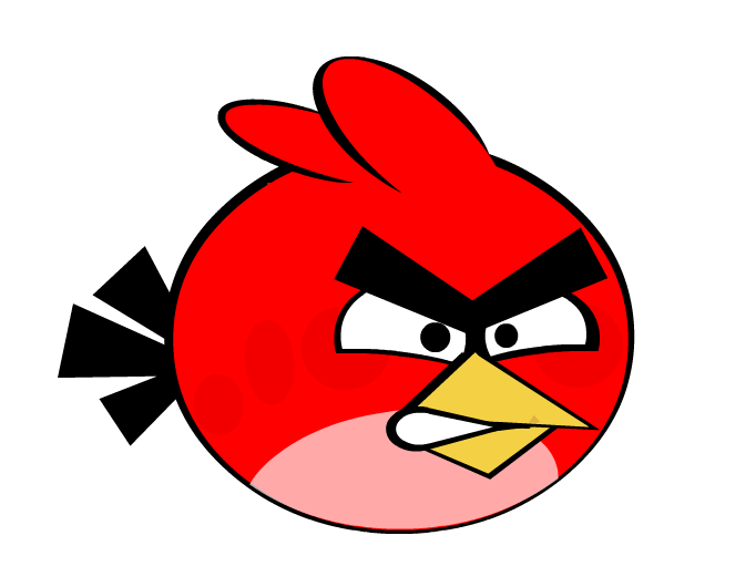 angry bird red girl. Black Bedroom Furniture Sets. Home Design Ideas