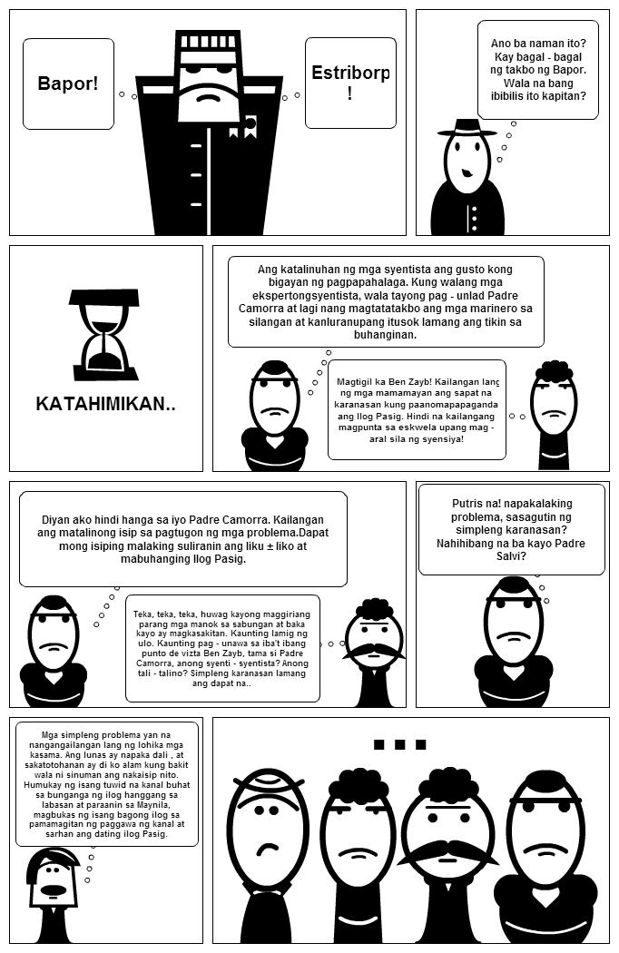 strips El filibusterismo comic