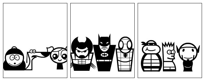 Random cartoon character generator
