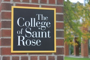 The College of Saint Rose Sign