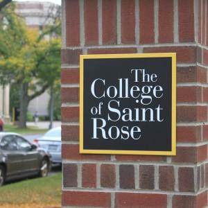 College of Saint Rose Sign