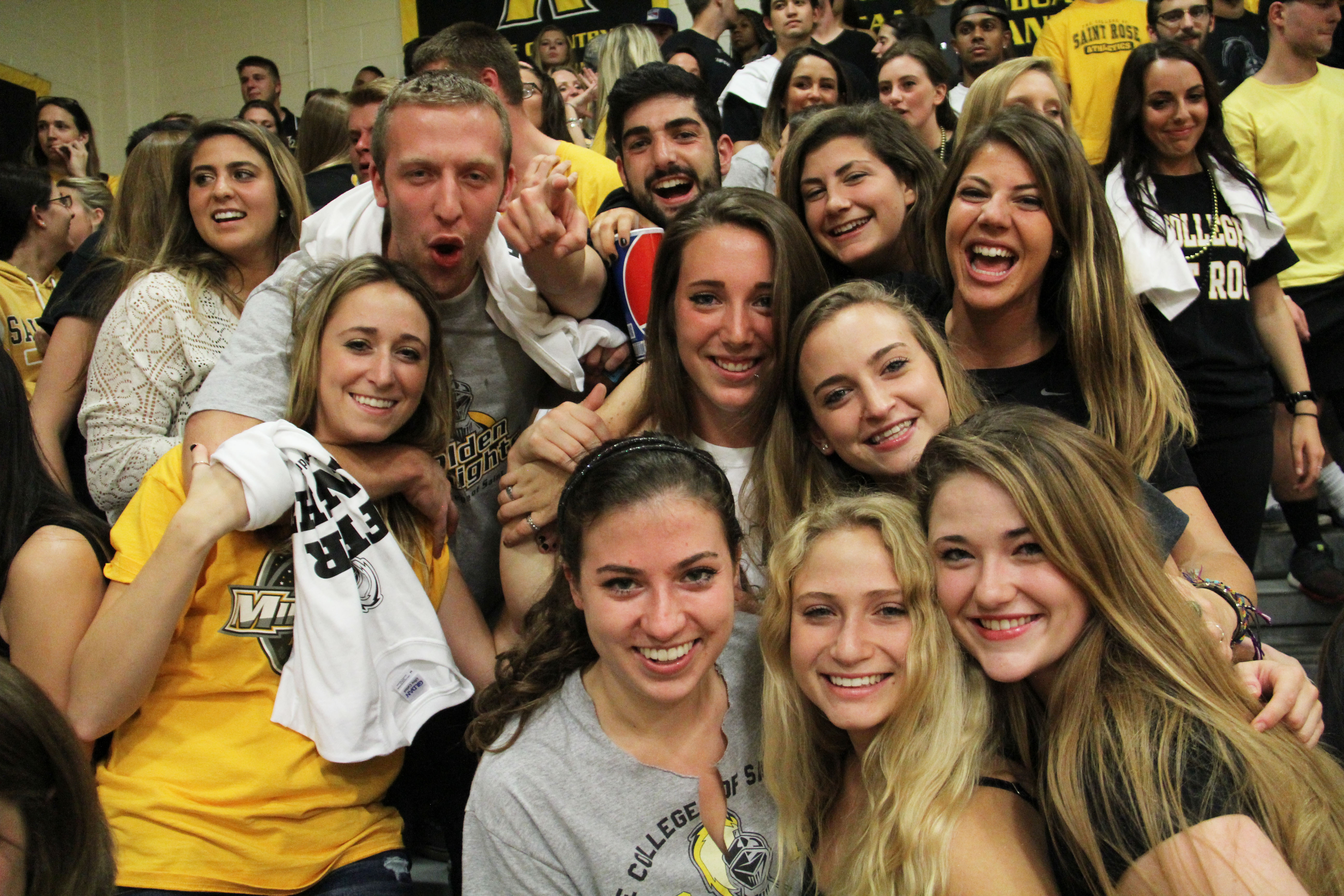 Student fans
