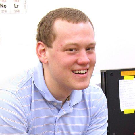 Chemistry degree alum Vincen Pierce