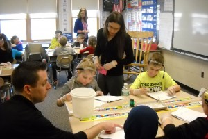 Student Teaching in Classroom