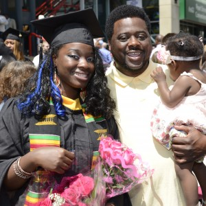 Graduation at the Times Union Center