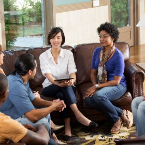 masters in clinical mental health counseling group session