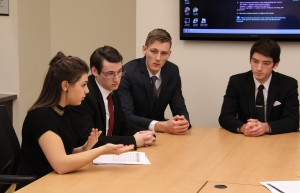 College Fed Challenge Team