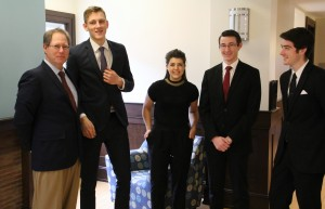 College Fed Challenge Team in Huether School of Business