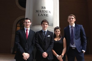 College Fed Challenge Team At Federal Reserve Bank of NY