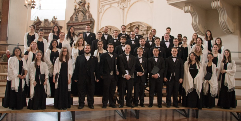 Chamber Choir at Salzburg Cathedral - March 5, 2016