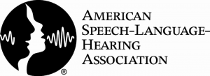 American Speech-Language-Hearing Association Badge