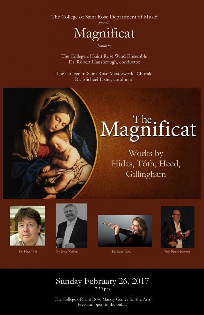 Magnificat Concert Poster