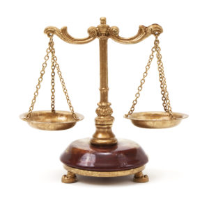 criminal justice degree - scales of justice