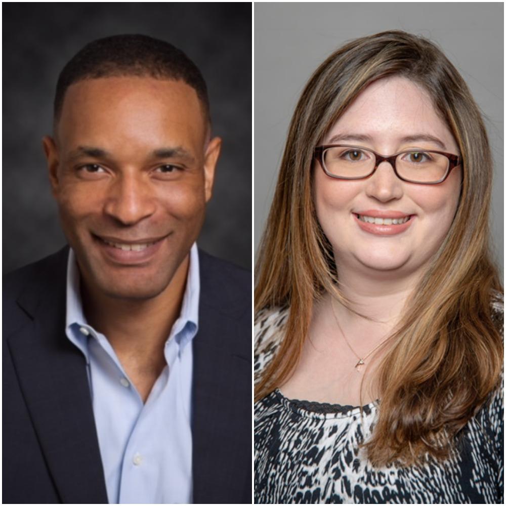Antony Haynes and Kimberly Cornell