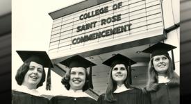 Class of 1968 Saint Rose Commencement
