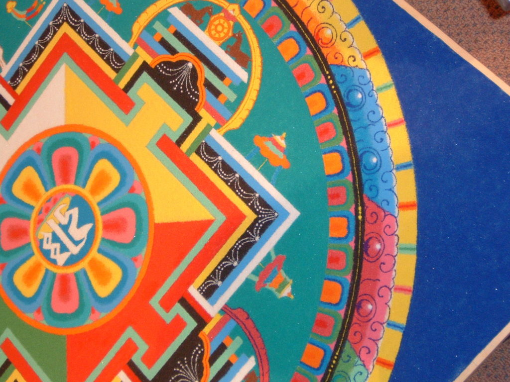 detail photo of mandala