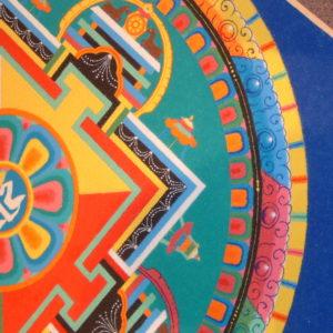 detail photo of mandala