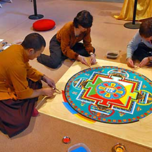 Work on the Mandala going smoothly