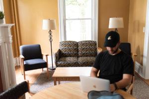 Veteran Residence Study Common Room