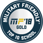 Military Friendly Top 10 School 2018
