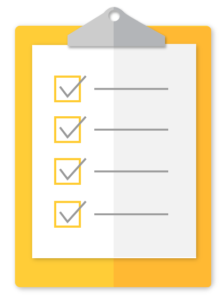 FAFSA checklist decorative icon
