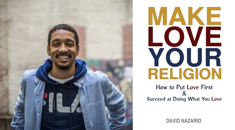 David Nazario and book cover