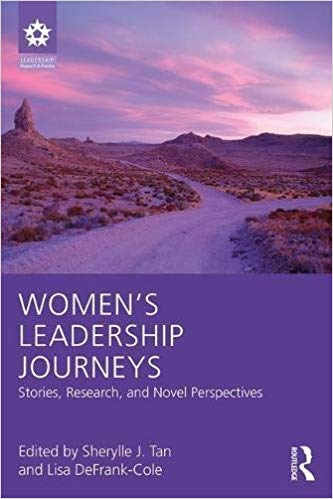 "cover of ""Women's Leadership Journeys"""