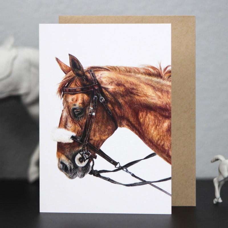 Kim Szkudlarek Alumni Gift Guide Horse Portrait