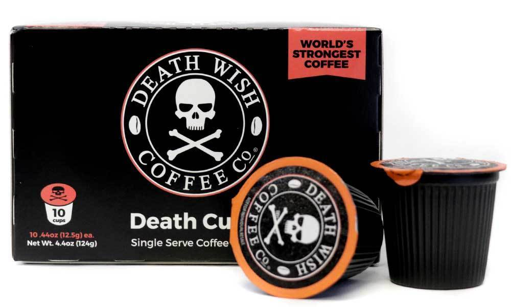 Death Wish Coffee Alumni Gift Guide KCups