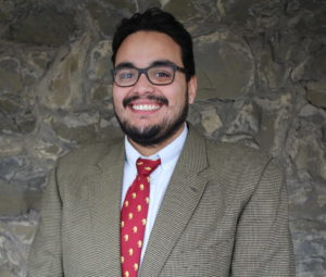 George Lopez, admissions counselor