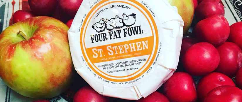 Four Fat Fowl St. Stephen cheese