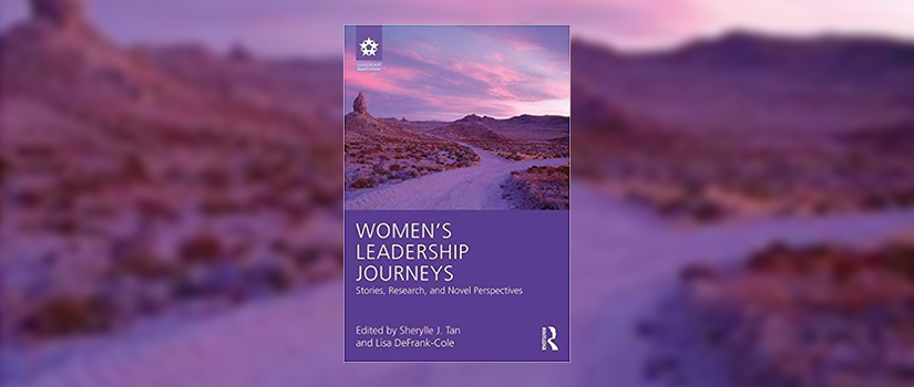 cover of the book 'Women's Leadership Journeys'