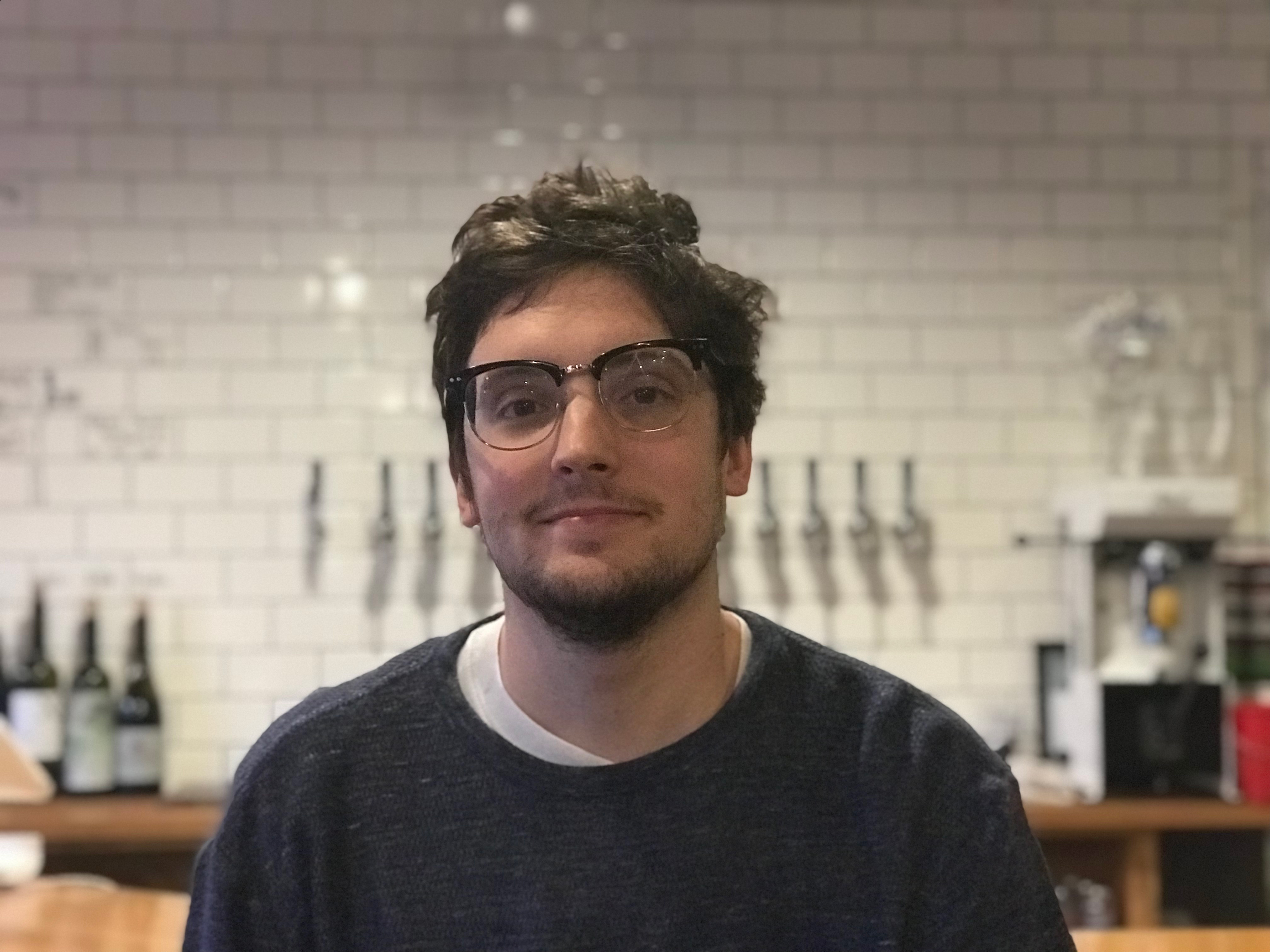 Colin Pratt, Co-founder and Co-owner of Delaware Supply Beer Bar