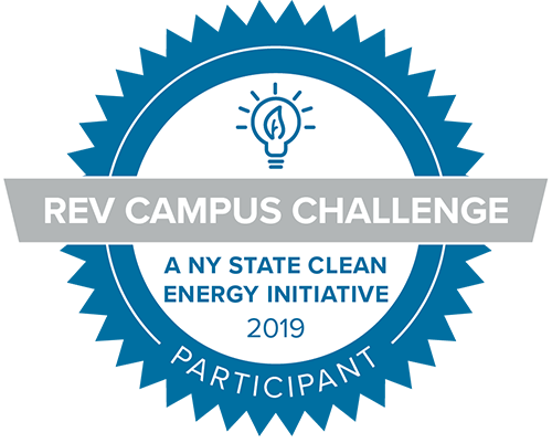 REV Campus Challenge, NY State Clean Energy Initiative 2019 Participant Badge
