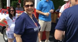 Cheryl Hage-Perez at Memorial Day