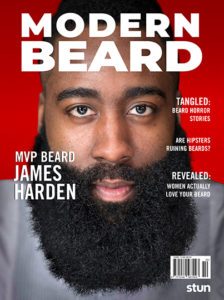 Modern Beard Magazine Cover Designed by Kieran Barber '19