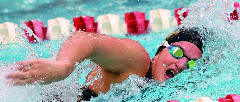 Colleen Quaglia, Saint Rose swimmer