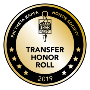Phi Theta Kappa Transfer Honor Roll 2019