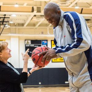 Garth Joseph Basketball Alumni at Saint Rose