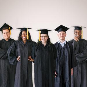 Five Saint Rose Grads of 2019