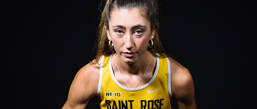 Christine Myers, Saint Rose runner