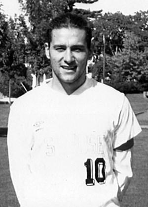 Jesús Valbuena Garcia '93 as a student at Saint Rose.