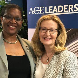 Gailda Davis and Carolyn Stefanco